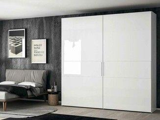 Lacquered wardrobe with sliding doors EMOTION SCORREVOLE 4