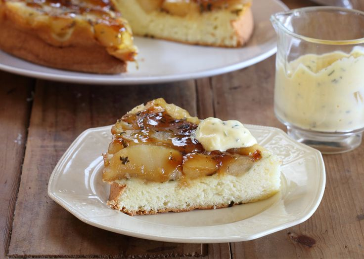 apple and rosemary tart with verjuice and honey | #tart #dessert #recipe #foodwise
