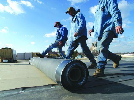 Etancheite des toitures et terrasses en membrane EPDM