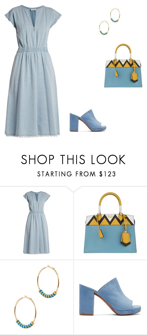 """#1384"" by apvick ❤ liked on Polyvore featuring MASSCOB, Prada, Alice Menter and Robert Clergerie"