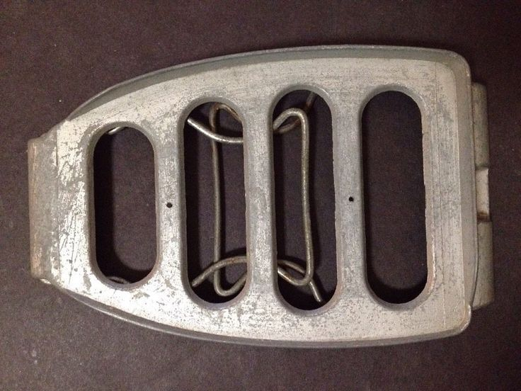 Estate Find - Vintage Metal Iron Stand / Trivet with foldable legs