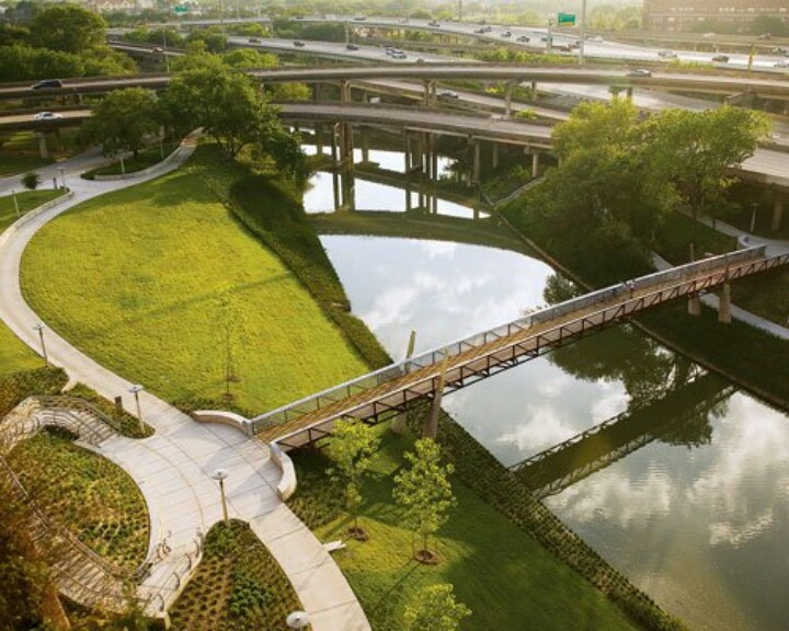 One Of The Projects Included SWA Group And Their Work On Houstonu0027s Buffalo  Bayou Transformation Which