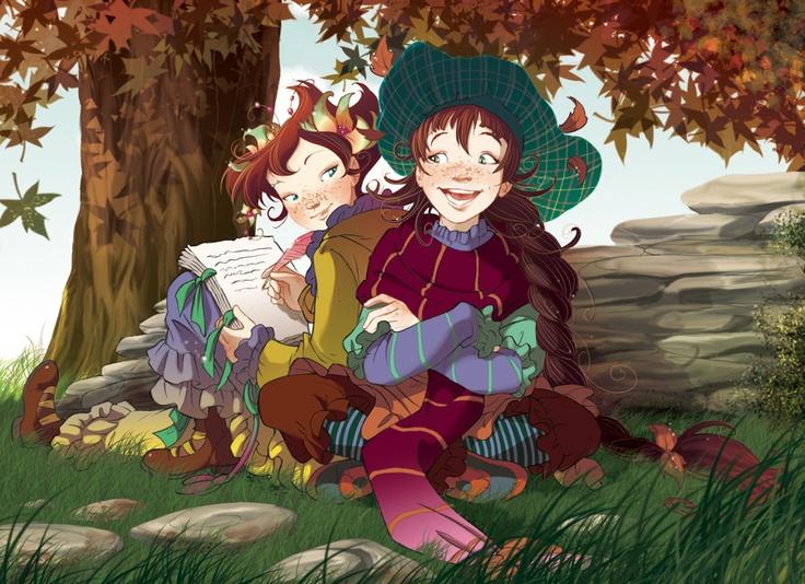 Fairy Oak-Lavender and Flox | #ElisabettaGnone #libri #books #romanzo #novel #art #drawing #picture #sketch #draw #artist #illustration #pencil #reading #fable #fiaba