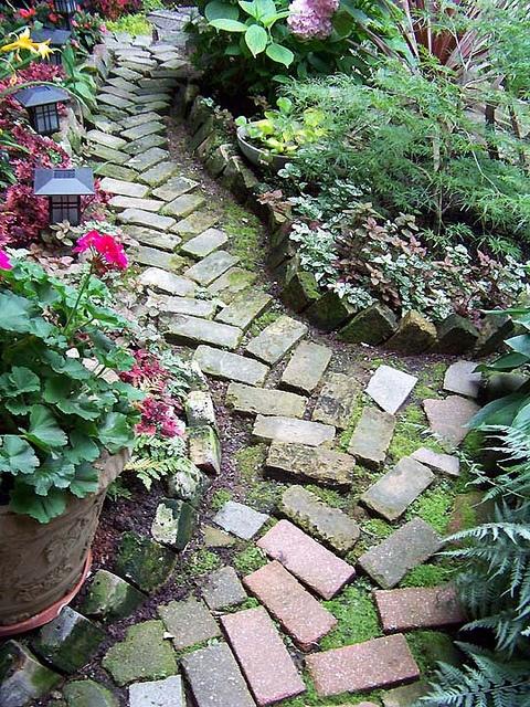 Best 25 Brick Garden Ideas On Pinterest Garden Ideas