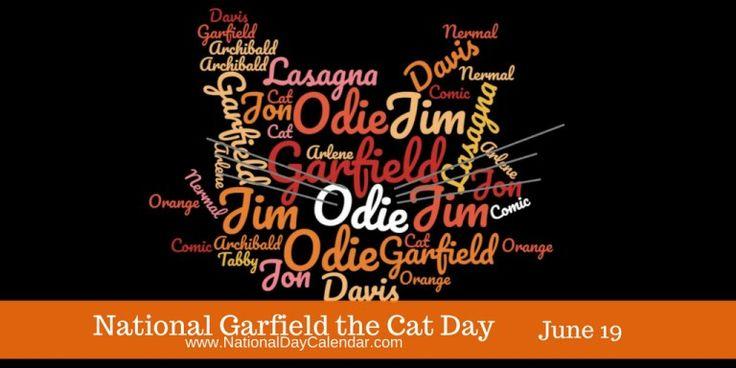 NATIONAL GARFIELD THE CAT DAY – June 19 | National Day Calendar