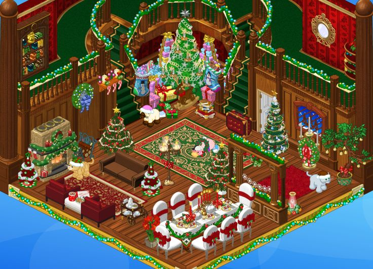 21 best webkinz rooms images on pinterest dont judge childhood victorian christmas room on webkinz sciox Choice Image