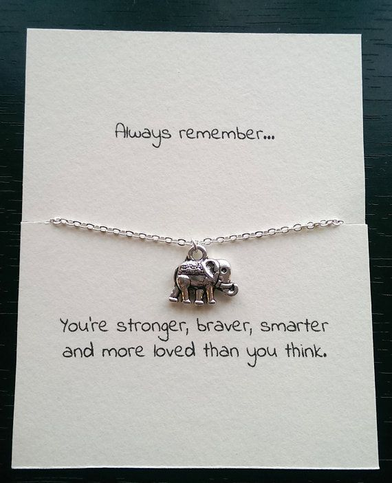 """Always remember"" Elephant quote"