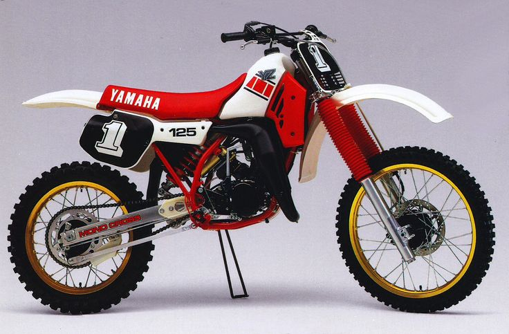 1985 Yamaha YZ 125-my sisters and I grew up on these, I was the youngest, I got the weakest bikes.wed take em up the street to the sand dunes, straight up and down, at the bottom ,murky, creepy, cold lake. If you didn't make it , either your bike, you ,or Both would get soaked. Day would be done. Pushin thru sand home, wet cold.needless to say we got crrrazzzzy tryin to make that hill. Braap