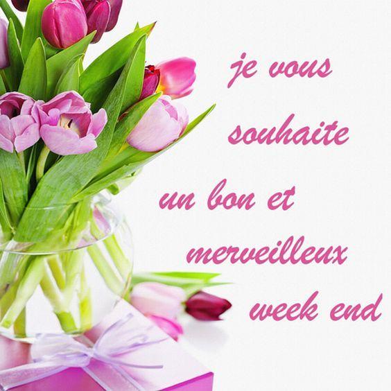 je vous souhaite un bon et merveilleux week end...I wish you a wonderful weekend.