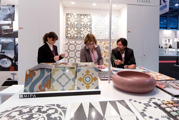 Итальянская плитка на выставке Maison & Objet 2013