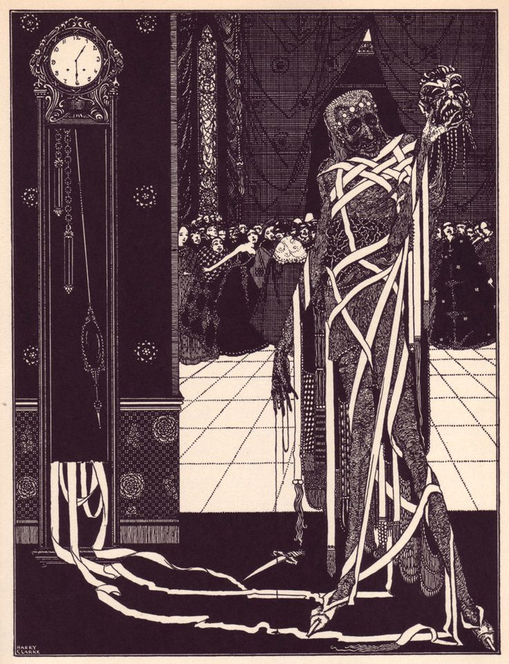 OcéanoMar - Art Site: Harry Clarke. Illustrations for Edgar Allan Poe's Tales of Mystery and Imagination. 1919.