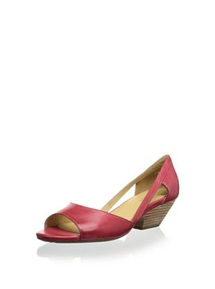 44% OFF Chocolat Blu Women's Grove Open-Toe Demi Wedge Sandal (Red)