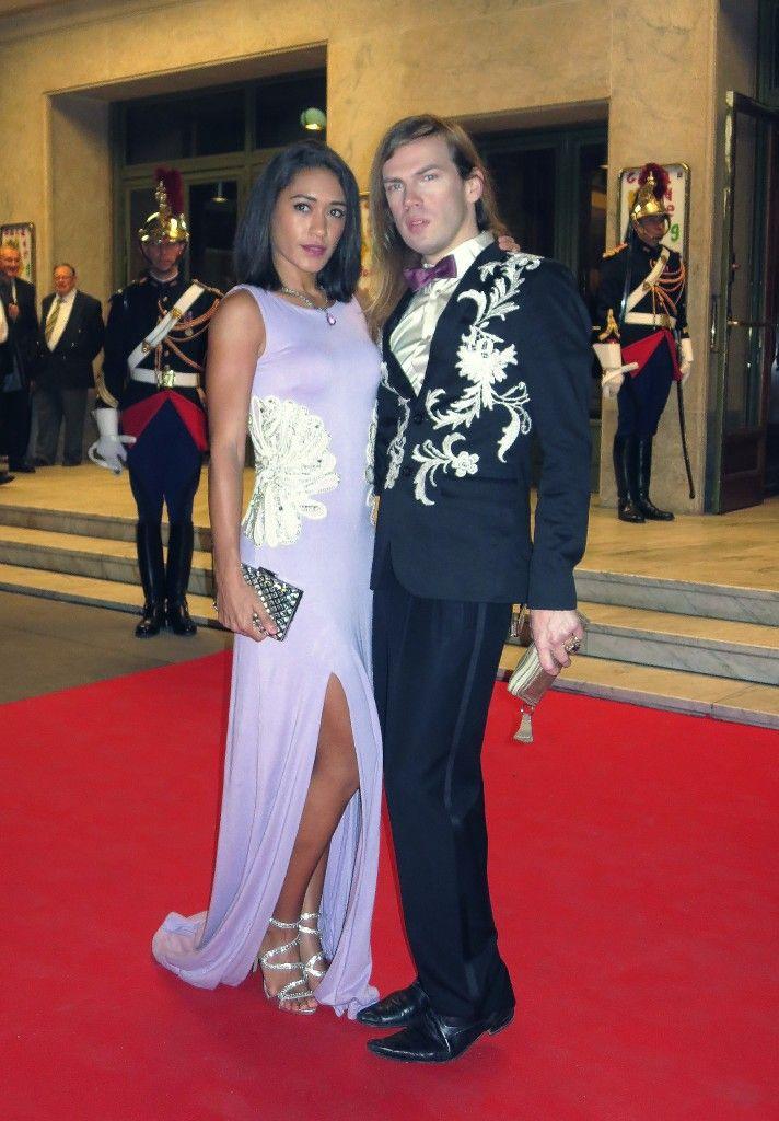 Joséphine Jobert et Christophe Guillarmé au 23ème Gala de L'Espoir à Paris