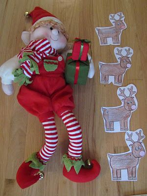 How Many Reindeer Tall measuring activity and more reindeer themed fun!