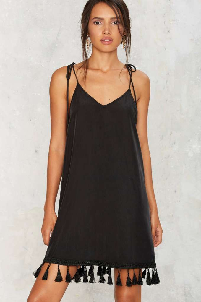 After Party by Nasty Gal Hang With Me Tassel Dress | Shop Clothes at Nasty Gal!