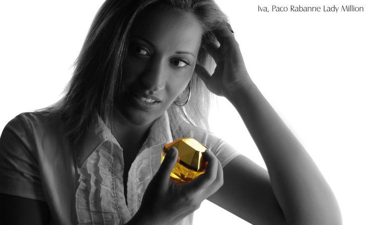 Iva si oblíbila  Paco Rabanne Lady Million parfemovaná voda pro ženy http://www.parfums.cz/paco-rabanne/lady-million-parfemovana-voda-pro-zeny/