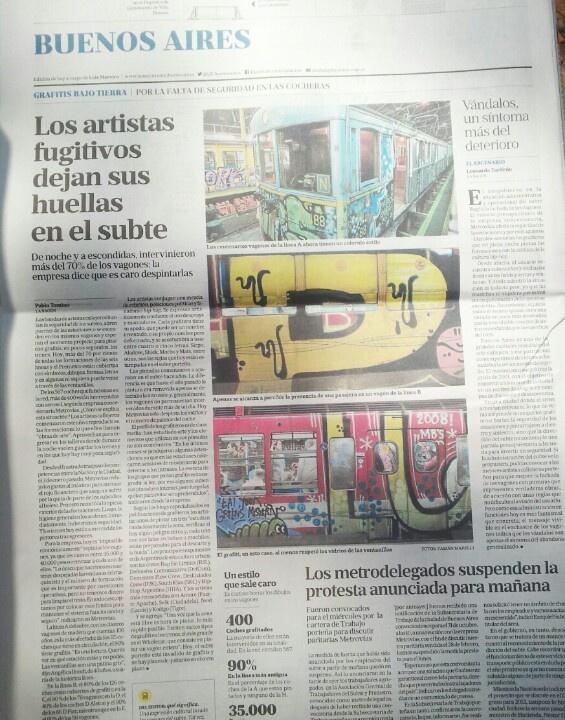 Nota La Nación 28/10/12