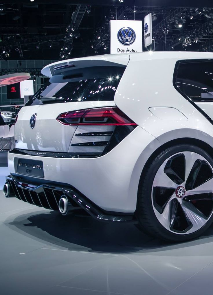 Dat ass tho.... Volkswagen GTI vision concept