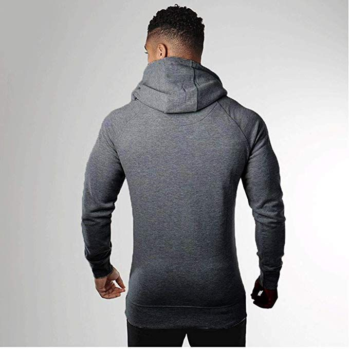Muscle Killer Mens Sports Cotton Dry Pullover Workout Hoodies Sweatshirt