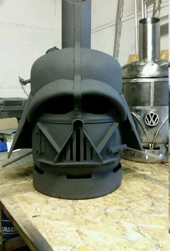 Star Wars Darth Vader Style Patio Heater Gas Bottle