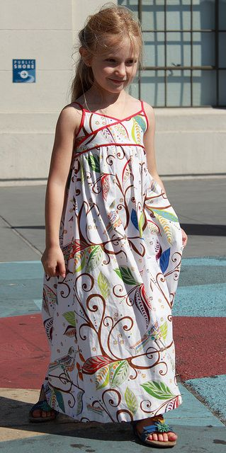 Summer Maxi- little girls always look so cuuuuuuute in maxis!!!