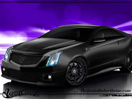 Justin Bieber Cadillac West Coast Customs styled.