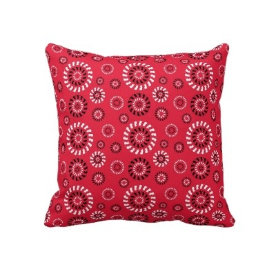 New* Town Mouse and Country Mouse- Red, Cushion