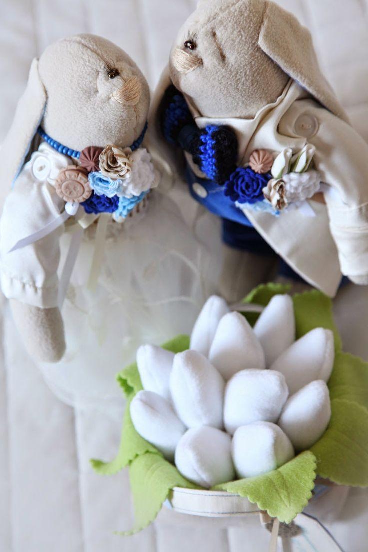 Toys+things: Свадебные зацы
