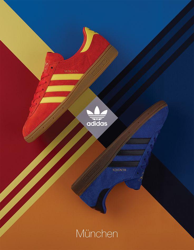 size? Styles the adidas Originals München in Stretford & Athens Colorways - EU Kicks: Sneaker Magazine