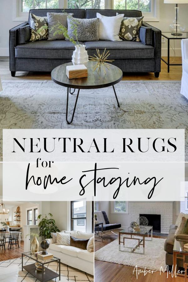 Here Are Some Of My Favorite Neutral Area Rugs For Home Staging A Rug Will Make All The Difference In Your Home Neutral Dining Room Dining Room Rug Home Decor