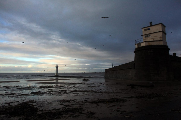 Perch Rock, New Brighton, Wirral. New Years Eve 2012
