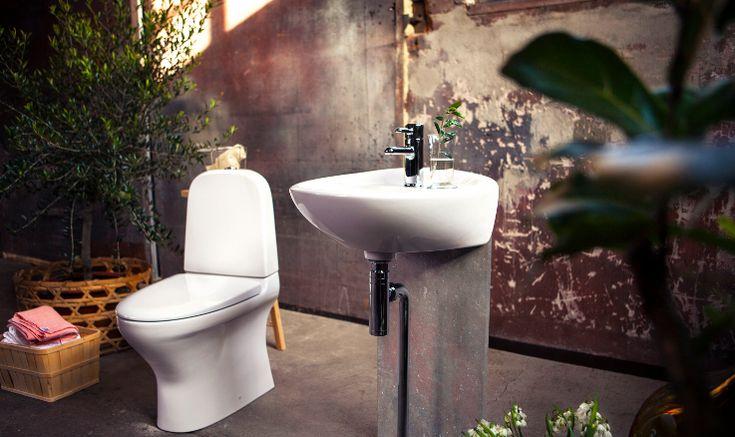 Baderomsmøbler med Estetic baderomsprodukter Gustavsberg