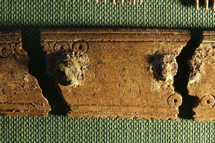 Vikinglere Ait Erken Dönem Runik Yazı Bulundu