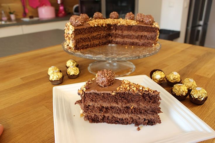 Sallys Blog - Rocher-Torte (26 cm)
