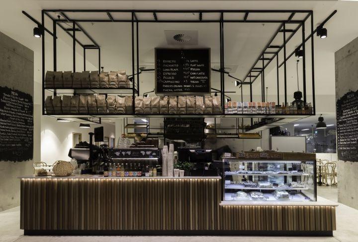 Впечатляющий интерьер пекарни Autolyse