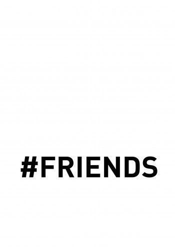 #Friends - White