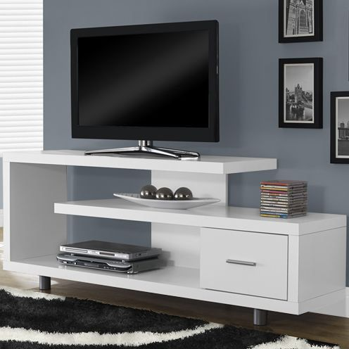 Features:  -Art-decorative inspired styling.  -1 Storage drawer.  -Thick panel…