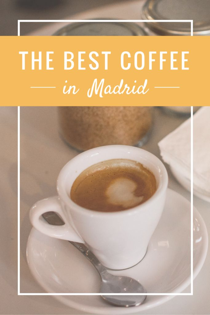 A food blogger's hunt for the best coffee in Madrid