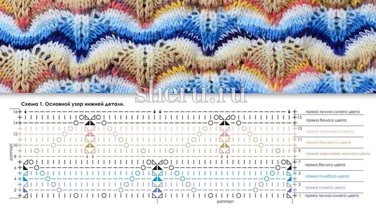 узоры миссони для вязания спицами схемы и описание: 8 тыс изображений найдено в Яндекс.Картинках