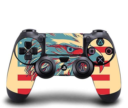 SKIN SONY PS4 CONTROLLER - PATRIOTIC