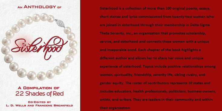 Sisterhood is a collection of more than 100 original poems