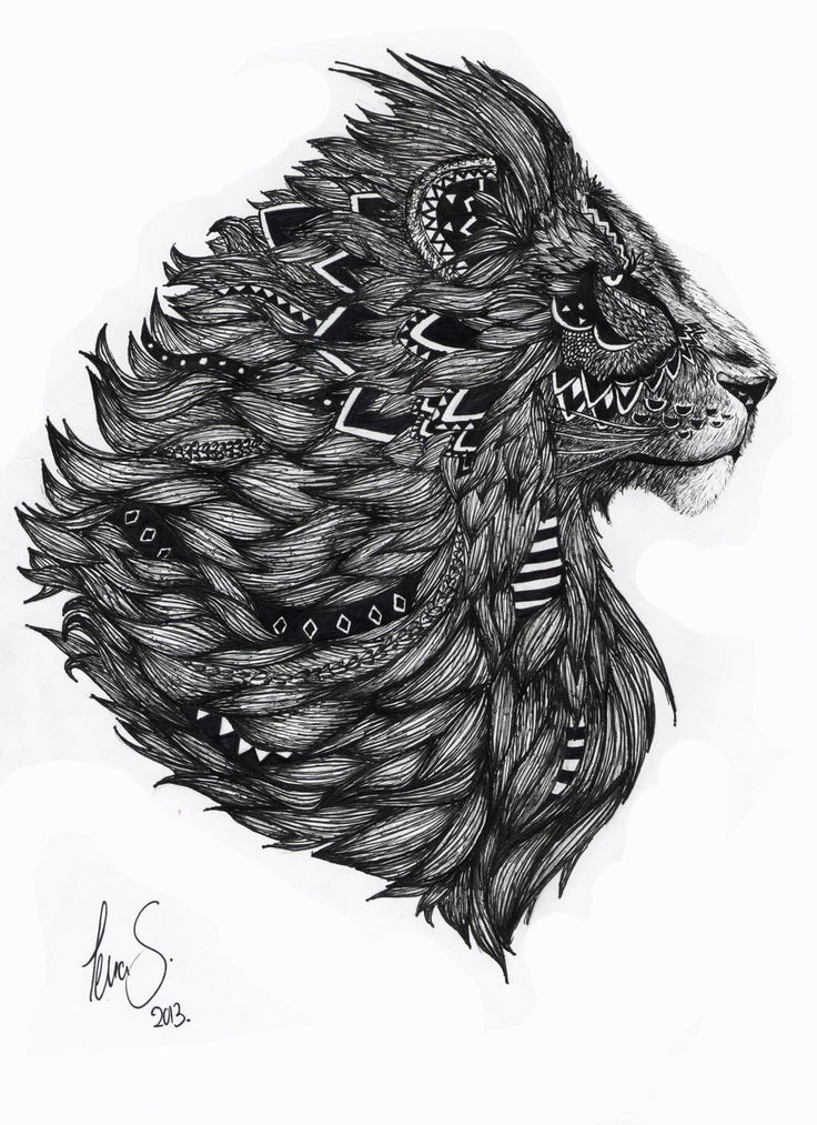 Majesty - Aslan. I love this as a tattoo. I got it on my shoulder - and I think it is amazing. It is such an incredible drawing!