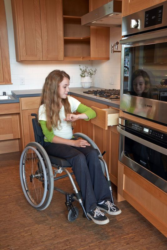 236 best accessible homes images on pinterest handicap for Building a wheelchair accessible home