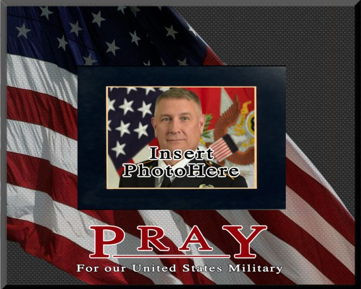 pray for our us military picture frame - Military Picture Frames