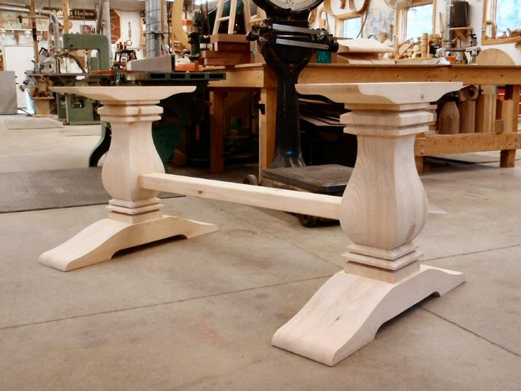 Best 25+ Table bases ideas on Pinterest | Wood table bases ...