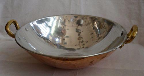 Handmade-Copper-Wok-Steel-plated-diameter-41cm-height-11-5cm-3kg