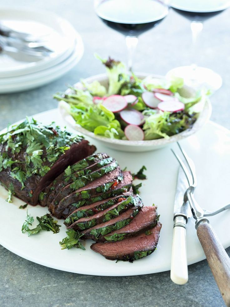 Marinated Herb-rolled Beef Fillet