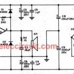 14 watt TDA2030 stereo amplifier circuit