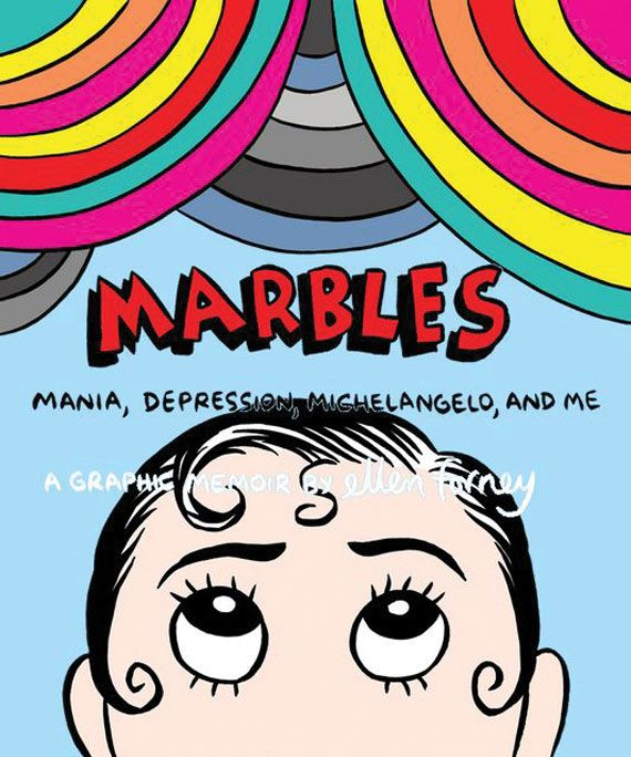 18 best lovely books images on pinterest comic books comics and marbles by ellen forney fandeluxe Images