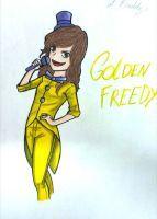 I'm Golden Freddy by ThaisMarino-Sensei